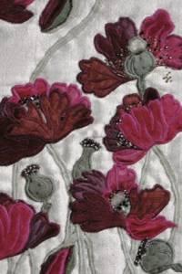 Mályva színű mákvirágok